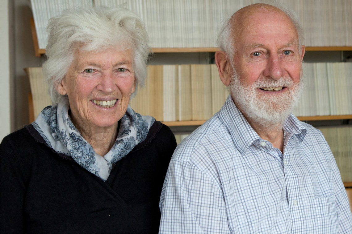 Rosemary and Peter Grant