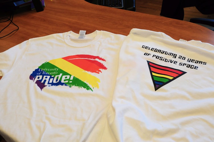 photo of Pride t-shirts