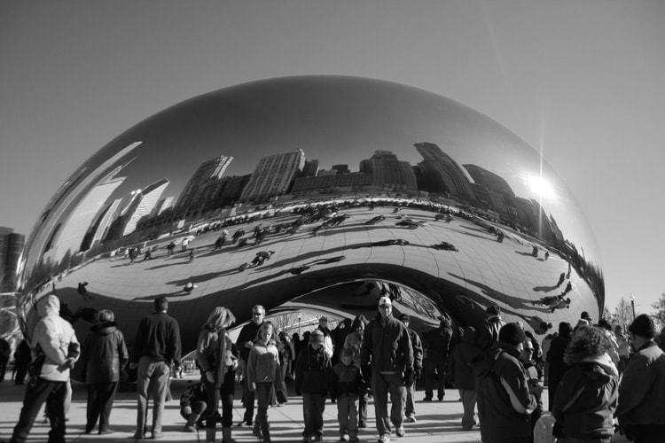 photo of bean sculpture