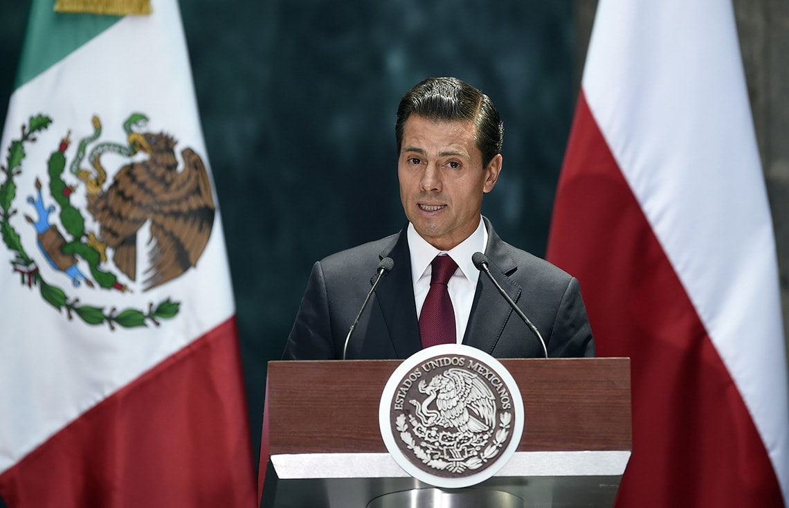 photo of Mexican president
