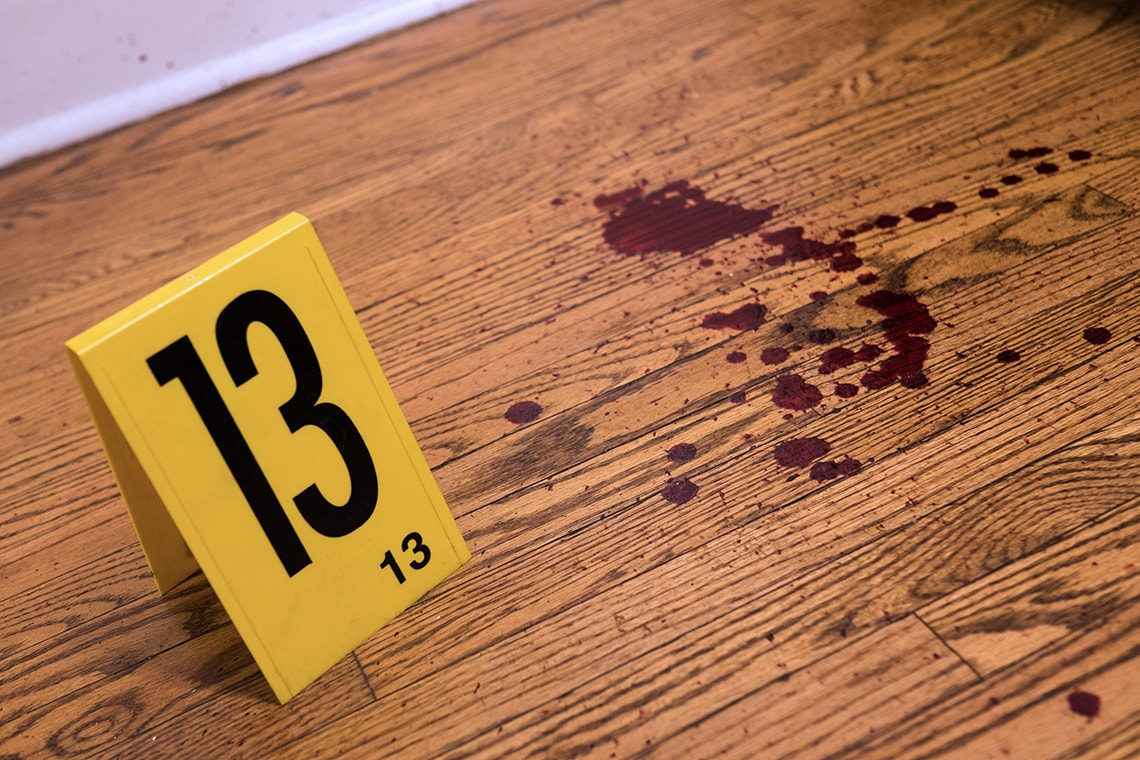 Crime Scene House Introduces U Of T Students To Forensic Science With Blood And Bullet Holes
