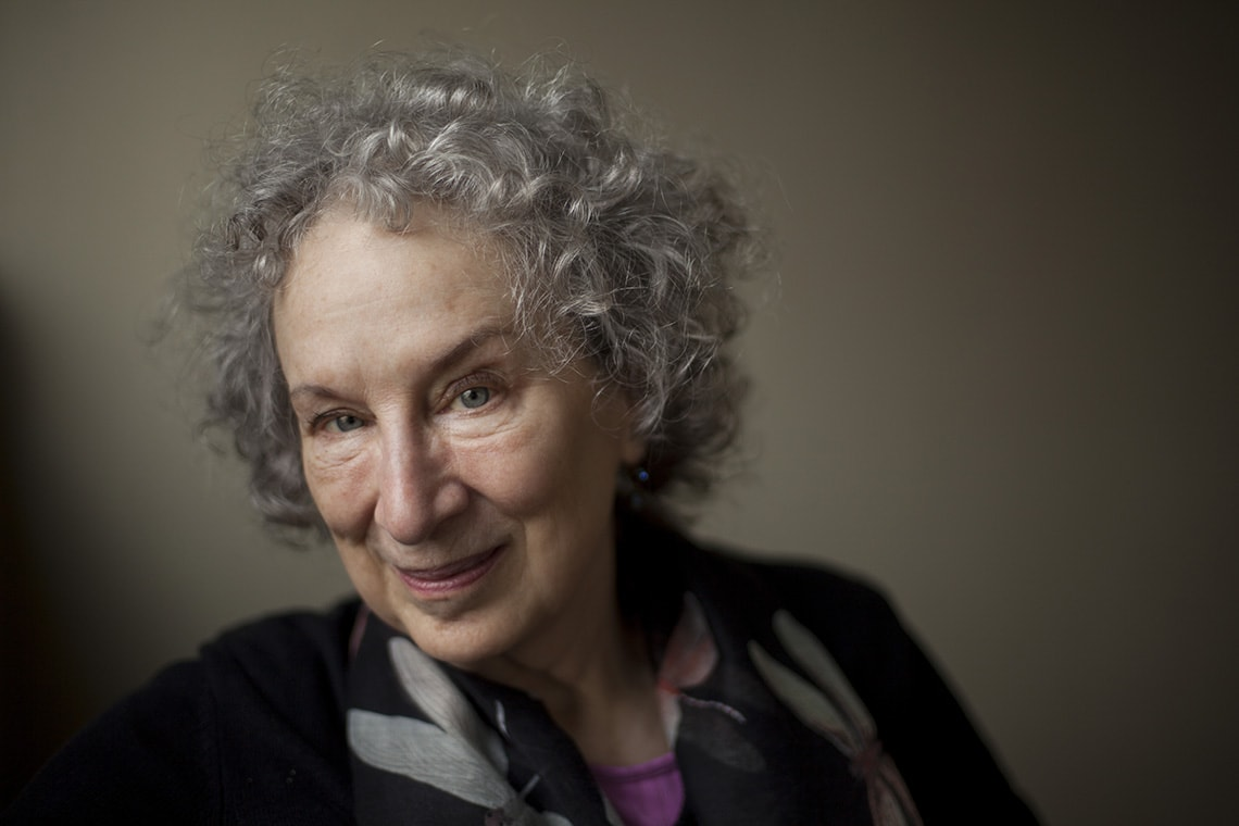 Portrait photo of Margaret Atwood