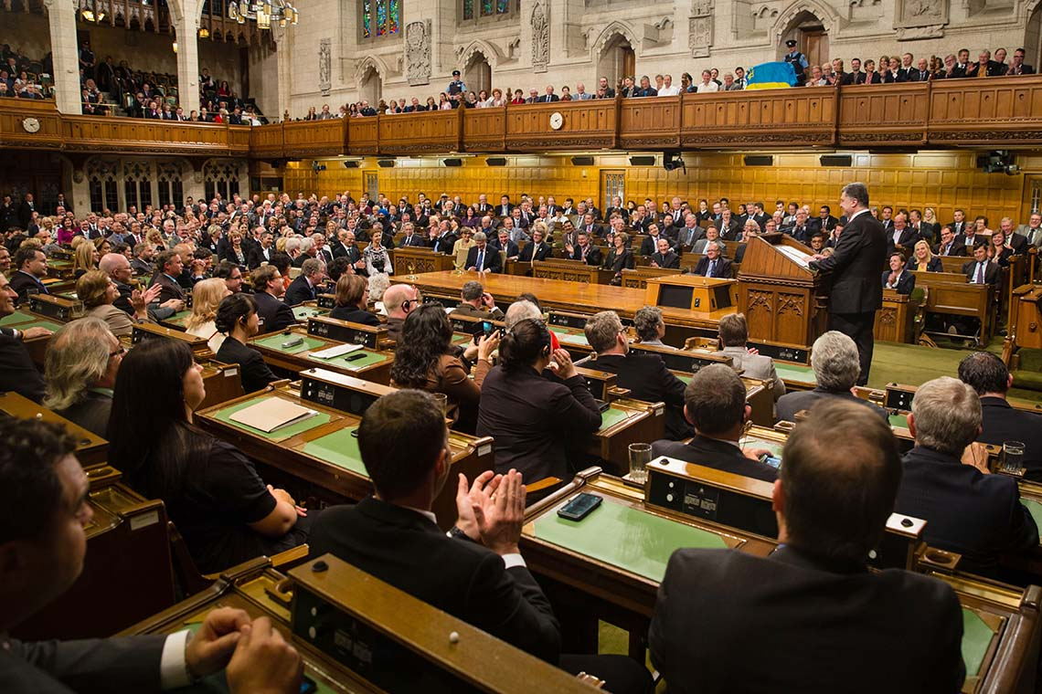Photo of Canadian Parliament
