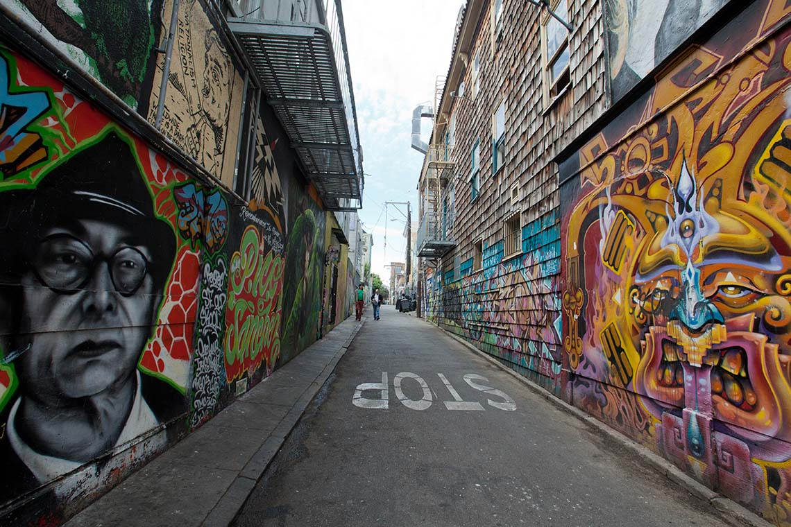Photo of Clarion Alley