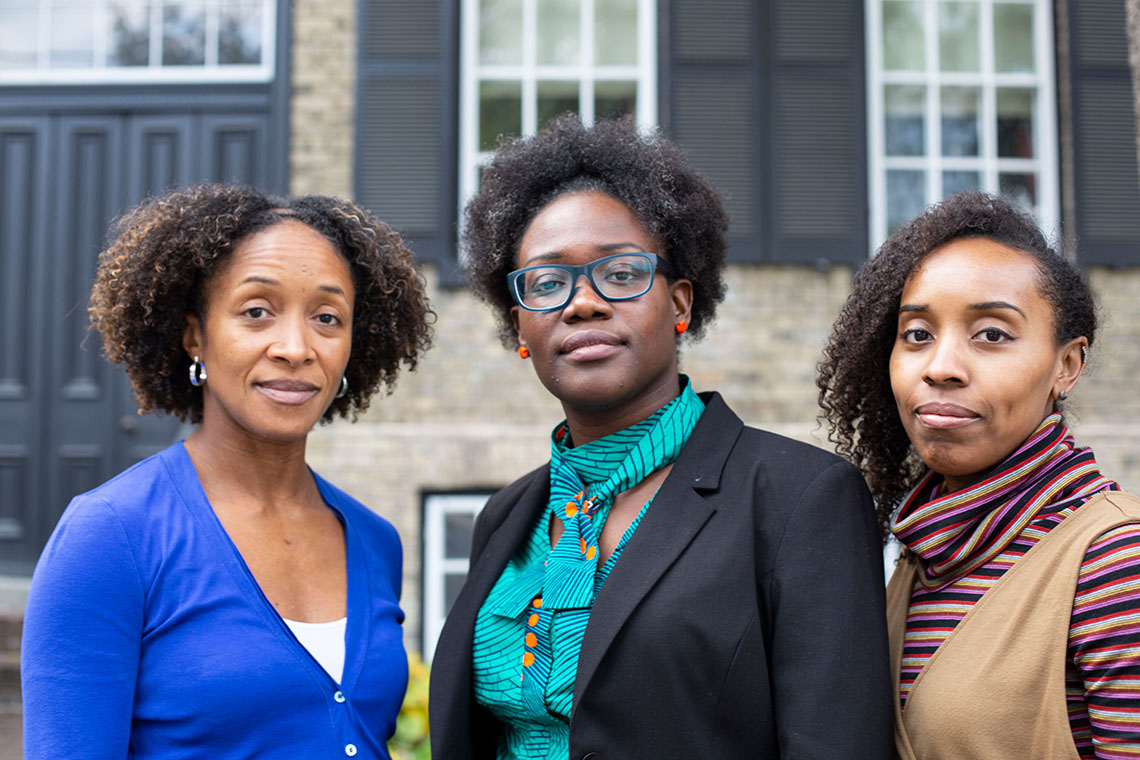 Photo of Aisha Lofters, Onye Nnorom and Nakia Lee-Foon