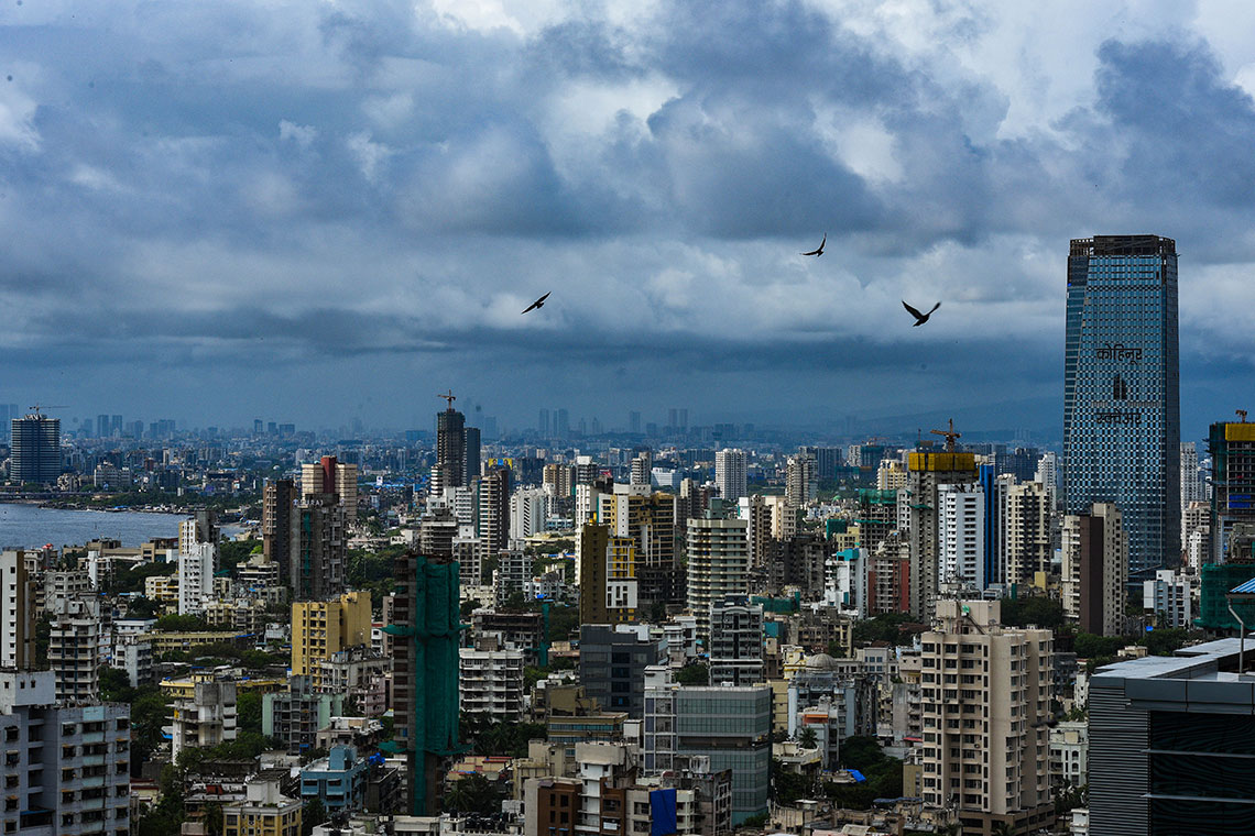 Photo of Mumbai skyline