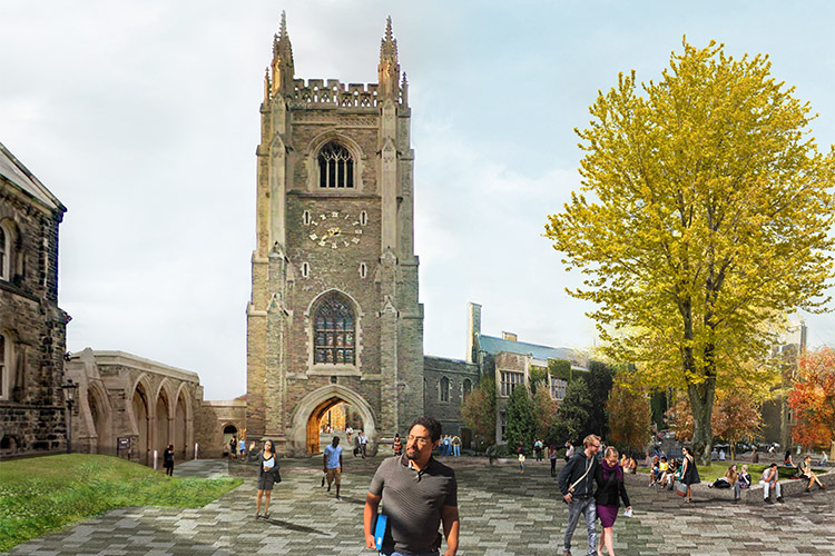 Hart House Circle rendering