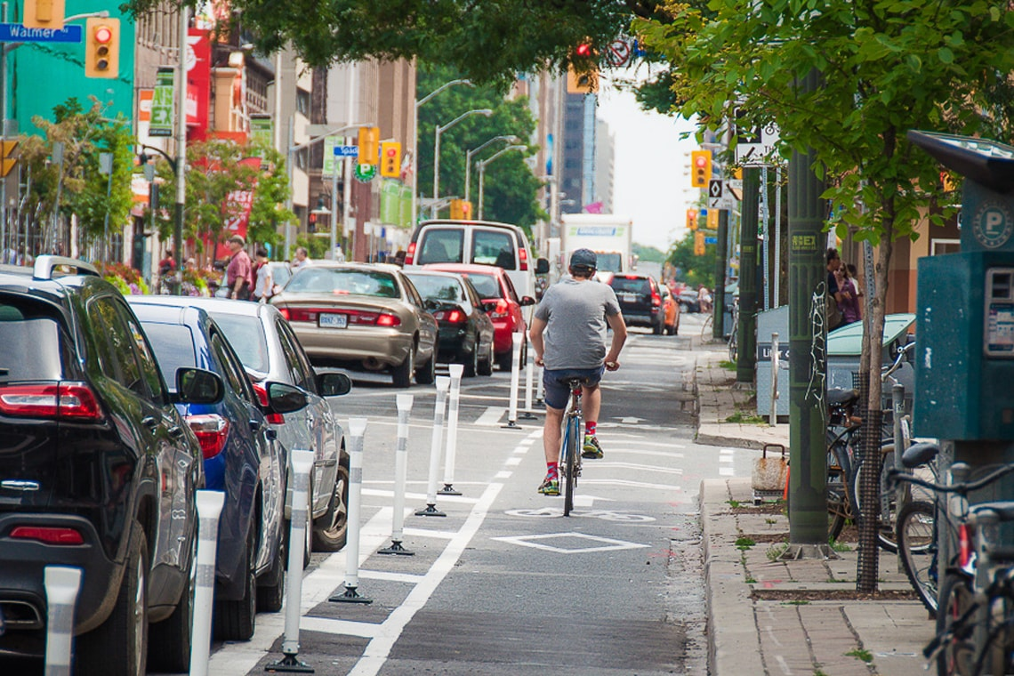 Bloor bike lanes