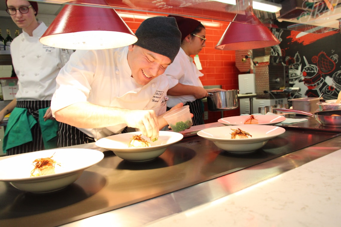 Photo of Iron Chef competition