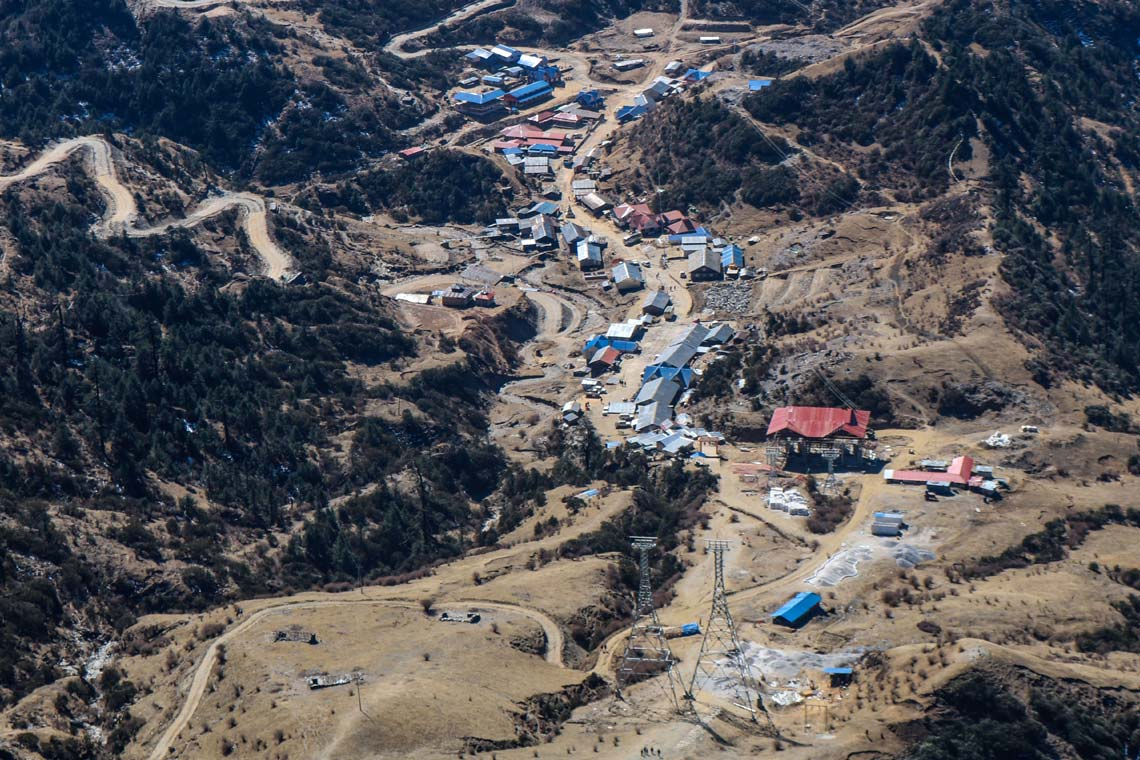 Photo of Kuri village in Nepal