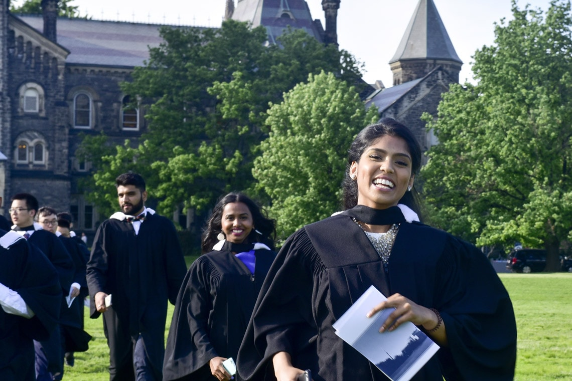 Graduates at Convocation 2016: A top-tier university like U of T reflects well on the entire system, says the HEQCO report (Ken Jones photo)