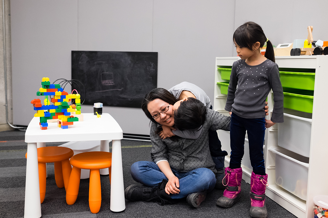 Family Study Space at Robarts Library