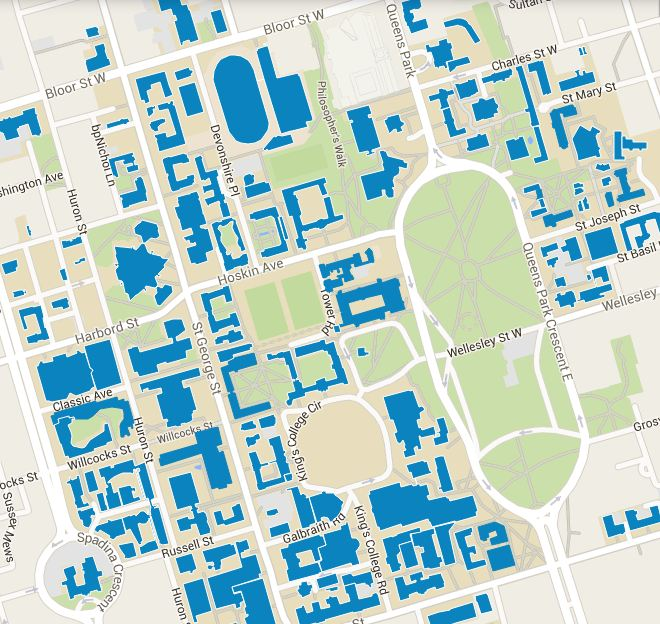 u of t campus map Back To School Lifehacks Must Have Tips For Life At U Of T
