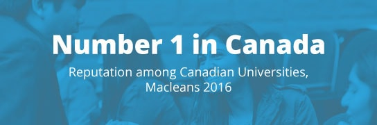 Academic Highlights - Number 1 in canada
