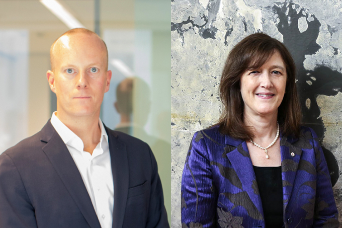 Ted Sargent and Barbara Sherwood Lollar awarded Killam Prizes.